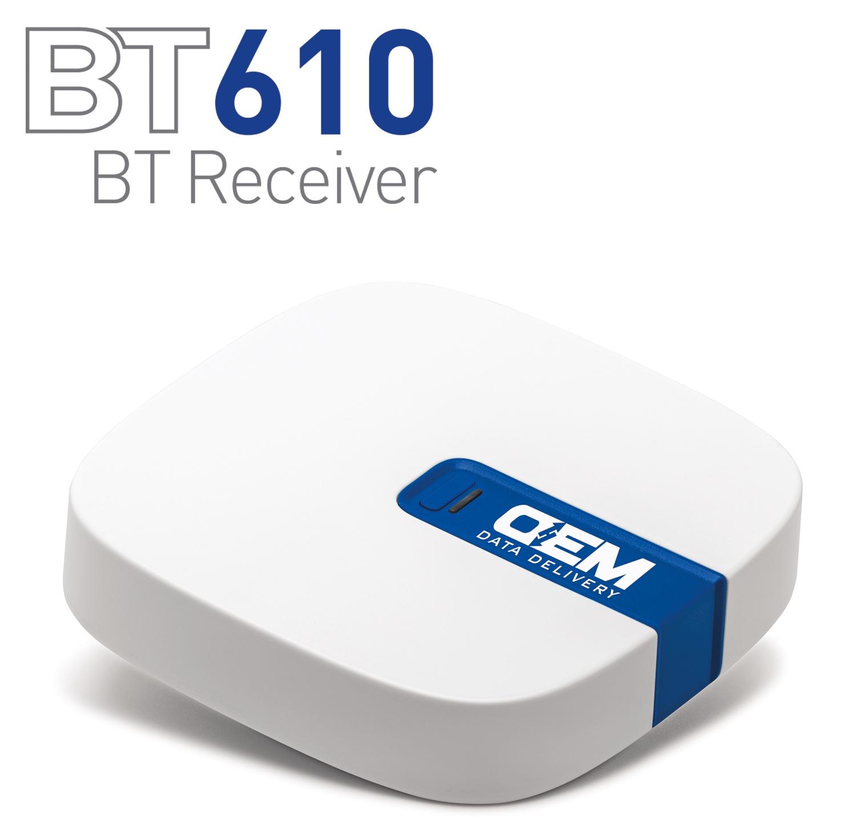 BT610 Receiver with Logo