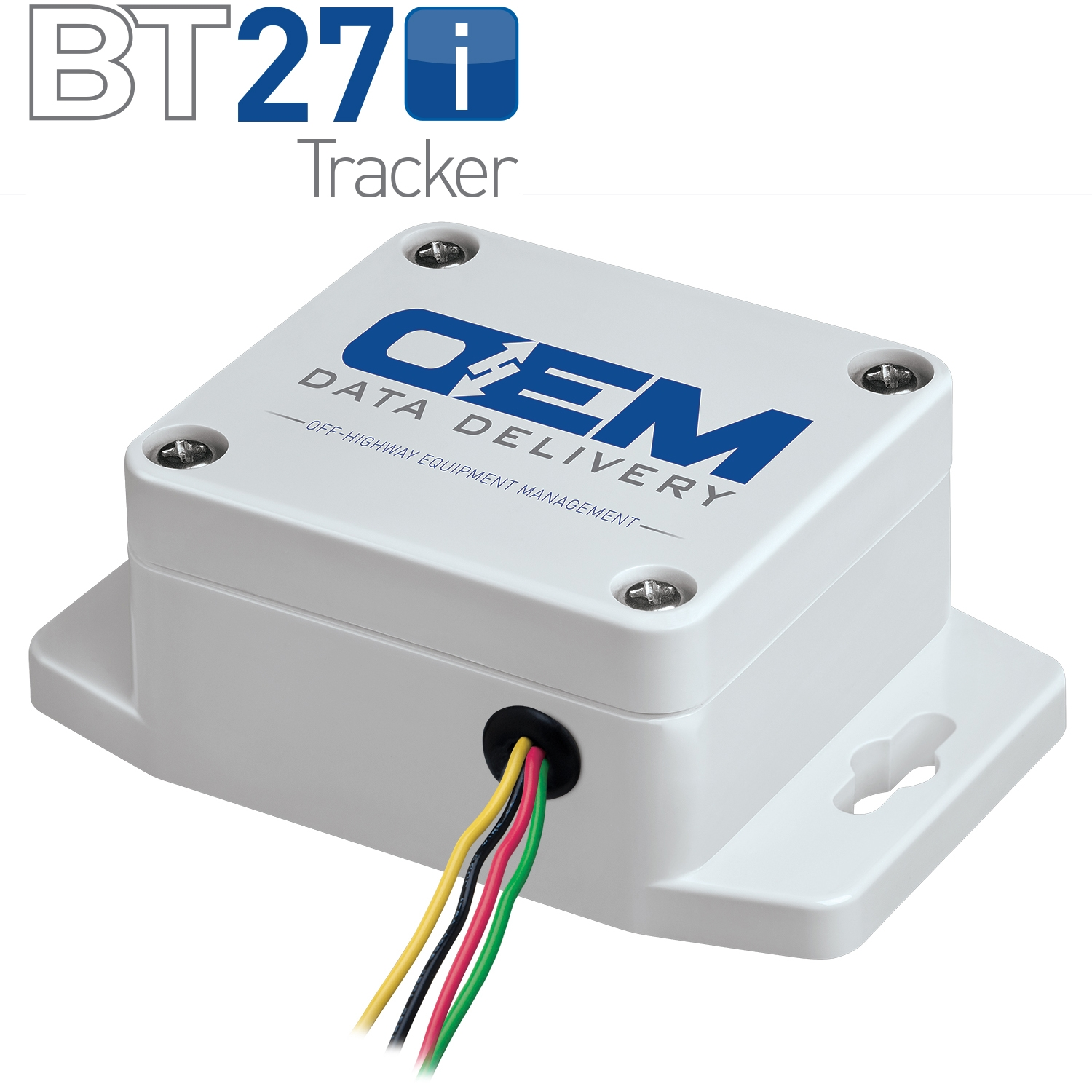 BT27i Tracker with Logo