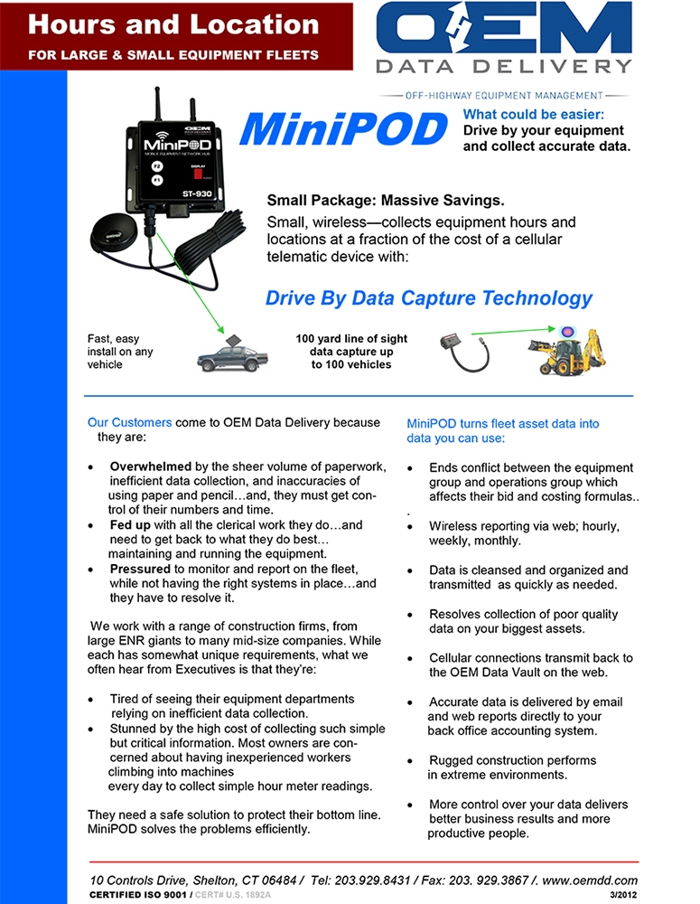 MiniPOD Data Sheet
